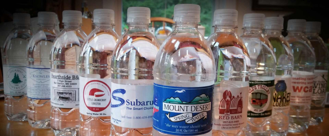 Want to See Your Logo on Bottled Water?